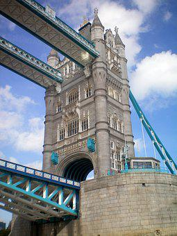 Architecture, Travel, Sky, City, Tourism, Tower Bridge