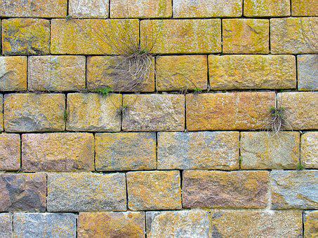 Stone, Wall, Brick, Granite, Masonry, Old, Fortress