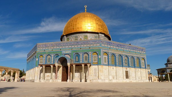 Architecture, Travel, Sky, Building, Mosque, Holy Land
