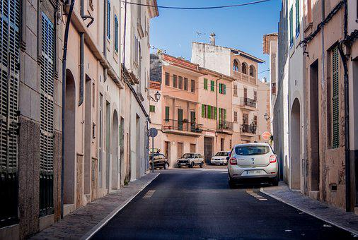 City, Alley, Auto, Small, Road, Architecture, Urban