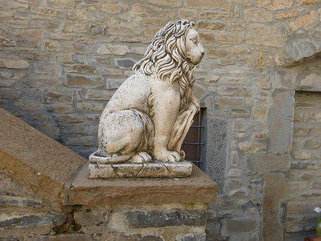 Pierre, Sculpture, Statue, Travel, Architecture, Lion