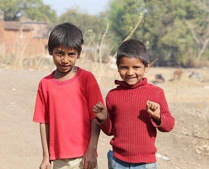 Child, Boy, Son, Outdoors, People, Village Kids