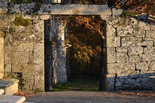 Old, Stone, Wall, Architecture, Abandoned, Brick