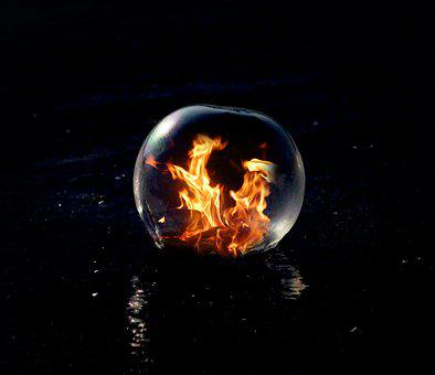 Astronomy, Flare-up, Heat, Planet, Hot, Ice, Bubble
