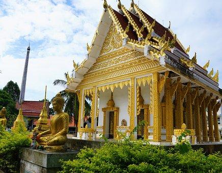 Buddha, Temple, Wat, Travel, Architecture, Pagoda