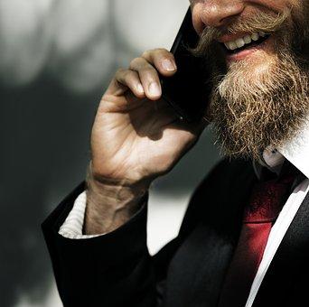 Adult, Man, Portrait, People, Beard, Business