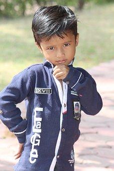 Child, Outdoors, Boy, People, Portrait, Fun, Cute