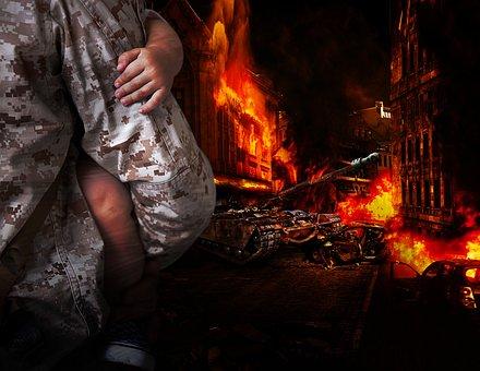 Flame, Heat, Fireplace, Smoke, Coal, Danger, Adult