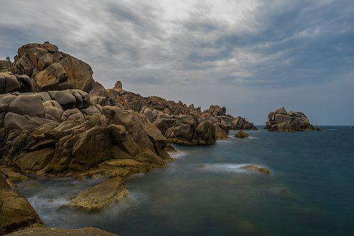 Waters, Nature, Coast, Rock, Sea, Corsica, Sardinia