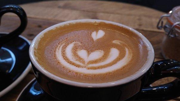 Coffee, Cappuccino, Espresso, Cup, Drink, Pattern