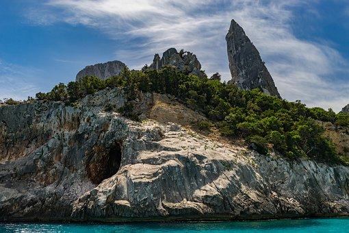 Nature, Waters, Landscape, Coast, Travel, Corsica