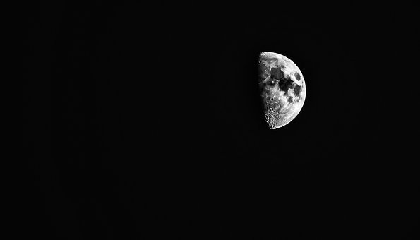 Moon, Astronomy, Crescent, Luna, Nature, Lunar, Cosmos