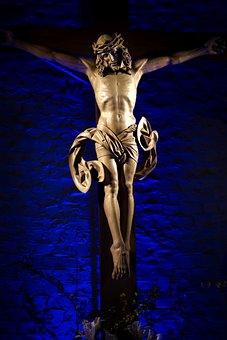 Body, Naked, Cross, Christ, Jesus, Crucified, Crucifix