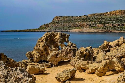 Cyprus, Cavo Greko, National Park, Landscape