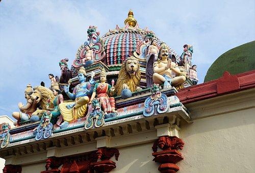 Sculpture, Temple, Statue, Religion, Travel, Dragon