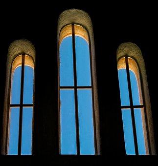 Window, Architecture, Light, Glass, Shadow, Dark, Hell