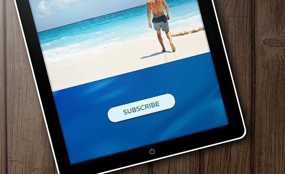Internet, Tablet, Technology, Business, Subscribe