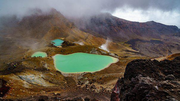 Volcano, Landscape, Panorama, Volcanic Eruption, Nature