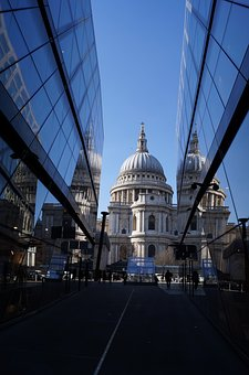 Architecture, Travel, City, Sky, London, St Paul's