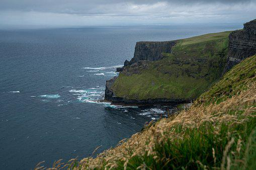 Seashore, Sea, Water, Beach, Travel, Ireland, Moher