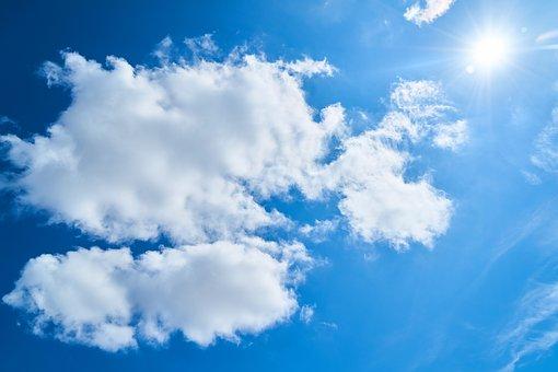 Nature, Cloud, Blue, Sky, Landscape, It's In The Air