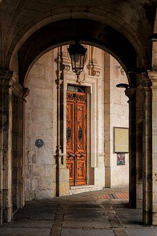 Architecture, Travel, Old, Building, Door, City, House