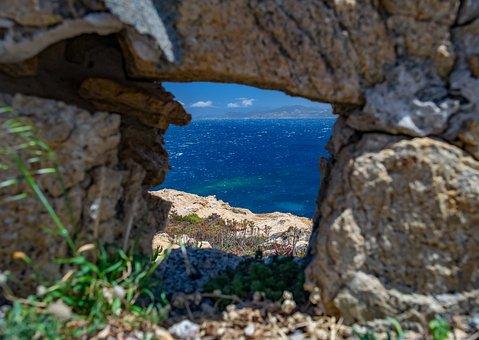 Nature, Waters, Rock, Sea, Travel, Corsica, Sardinia