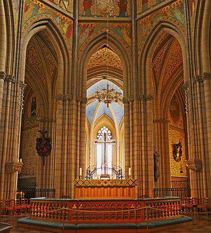 Uppsala Cathedral, Sanctuary, The Coronation Church