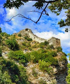 Rozafa, Castle, City, Shkodër, Northwestern, Albania