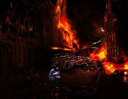 Flame, Heat, Smoke, Burnt, Coal, Burn, War, Rebellion