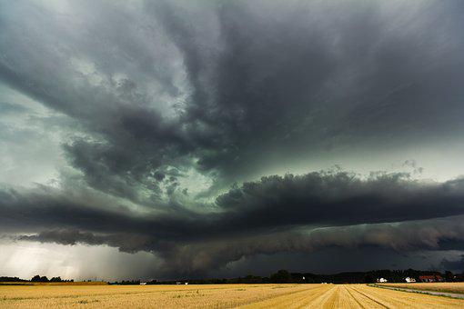 Super Cell, Shelf Cloud, Squall Line, Storm Front
