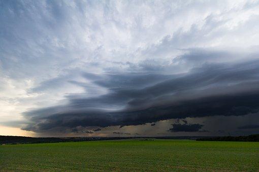 Shelf Cloud, Cumulonimbus, Storm Hunting, Meteorology