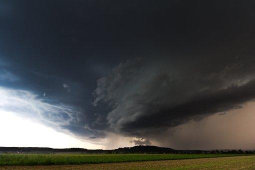 Super Cell, Squall Line, Storm Front, Precipitate