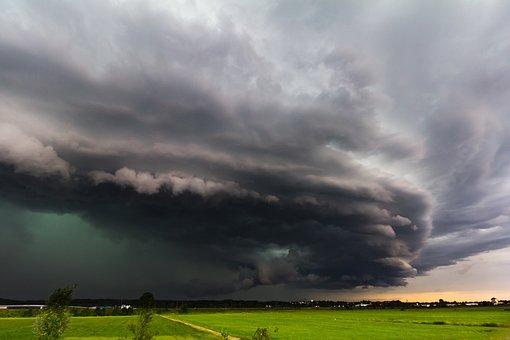 Thunderstorm, Storm, Super Cell, Shelf Cloud