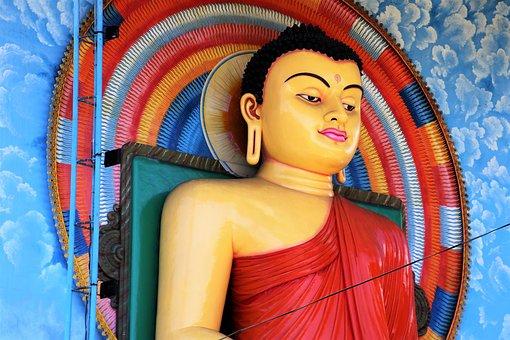 Buddha, Religion, Sri Lanka, Exotica, Symbol, Colorful