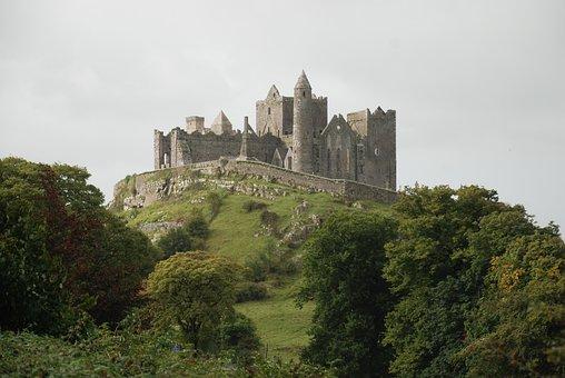 Rock Of Cashel, Tipperary, Irealnd, Castle