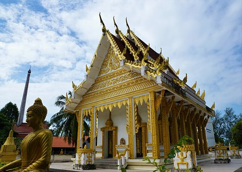 Temple, Buddha, Wat, Travel, Pagoda, Religion