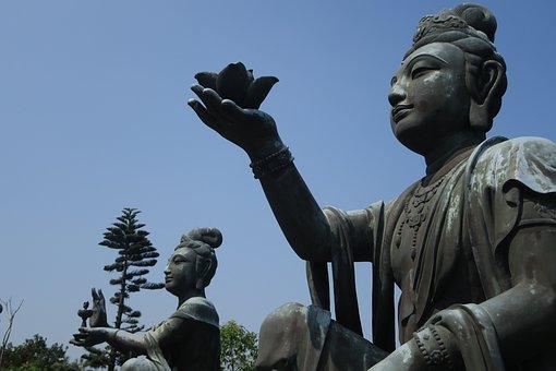 Statue, Sculpture, Travel, Outdoors, Religion, Monument