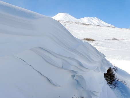 Mountains, Snow, Cornice, Namet, Winter, Height, Wind