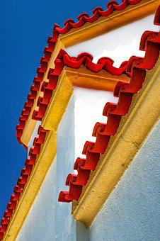 Architecture, Greece, Structure, Roof, Color, Home