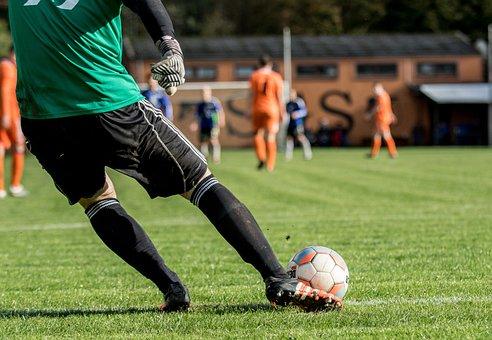 Ball, Football, Players, Sport, Play, Foot, Goalkeeper