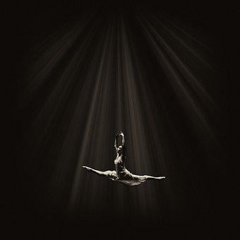 Ballet, Flight, Dance, Dancer, Model, Art