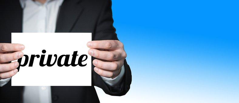 Businessman, Private, Privacy, Man, Presentation