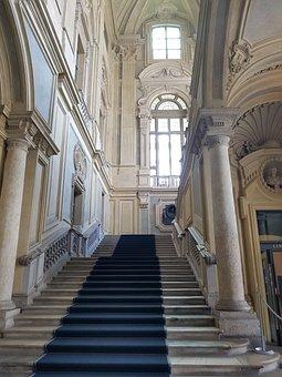 Architecture, Step, Column, Classic, Travel