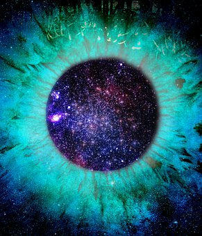 Science, Space, Astronomy, Galaxy, Exploration, Eye