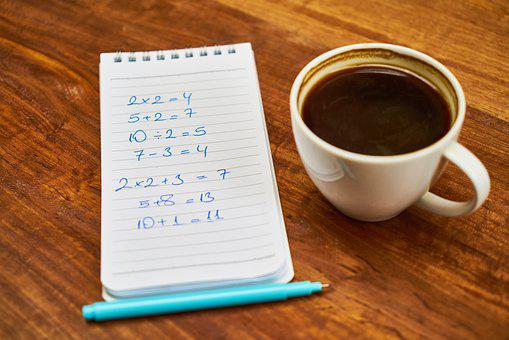 Coffee, Wood-fibre Boards, Cup, Glass, Note, Notebook