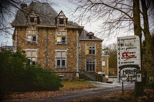 Hospital, Clinic, Sanatorium, Lost Places, Institute