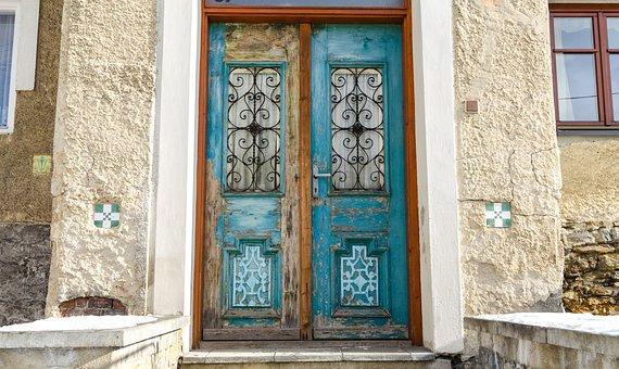 Czech, Branna, Jeseniky, Entrance, Door, House, Home