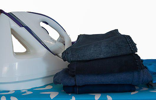Clothing, Equipment, Background, Iron, Ironing Board