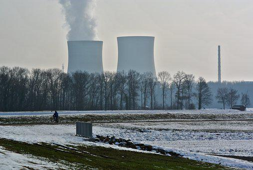 Nuclear Power Plant, Cooling Tower, Power Plant, Energy